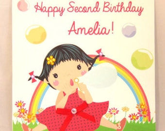 Personalised Handcrafted Birthday Card