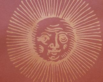 287 : Old Sun Design - limited edition screenprint