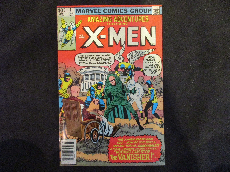 Erstaunliche Abenteuer: X-Men 4 Marvel Comics 1980