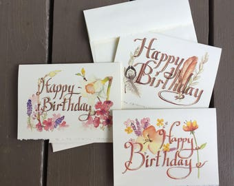 3 Birthday Cards