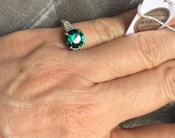 Sz7 Swarovski crystal ring