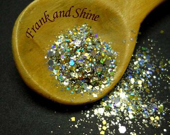 Cosmic Flash Holo Glitter Mix Solvent Resistant
