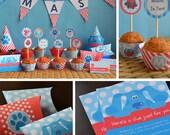 Blues Clues Party Supplies, Nick Jr Party Supplies, Blues Clues Birthday Printables, Nick Jr birthday, Blues Clues Favor Boxes