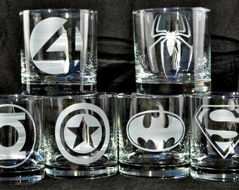 Marvel Comics, DC Comics, Superheroes Rocks Set for SuperHero Fanatics, Comicon,  Sandcarved by Jackglass on Etsy