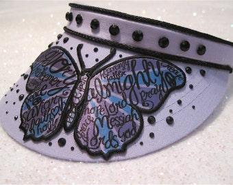 "Butterfly Visor  ""  Lady Hope """