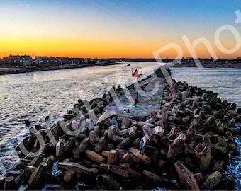 Jersey Shore Sunset (10/16/17)