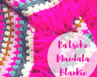 Ratsche Mandala Blankie (Tutorial in english with pics and explanations)