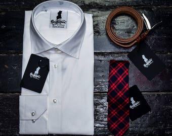 White office shirt