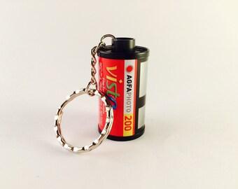 35mm Film Canister Keyring - Agfa Vista 200