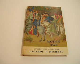 Moyen Age Collection Litteraire Vintage French Book