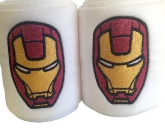 Iron Man Embroidered Polo Wraps