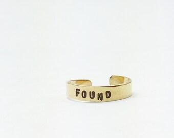 Say It Skinny Ring