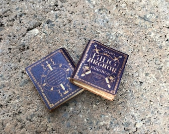 The Story of King Author and the Knights by Howard Pyle Classic Miniature Book - 1:12 (CB6)