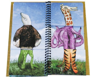 A Mixup at the Zoo - Animal Mixup Flip Book