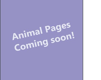 Harmony Pages - Animal Pack Coming Soon!