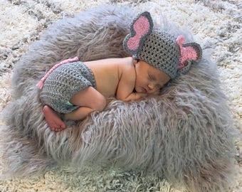 Newborn Elephant Outfit