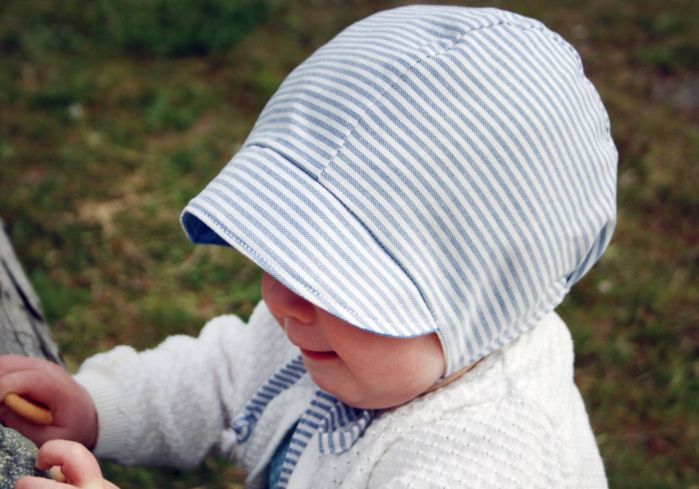 Free Baby Bonnet Sewing Pattern Gallery - origami instructions easy ...