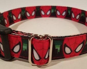 Spider dog collar