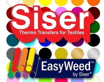 """SISER EasyWeed HTV 12"""" x 15"""" Sheet"""