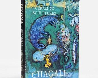 Book | Ceramics & Sculptures-Chagall 1972, Sorlier, Contain Original lithograph