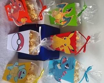 Pokemon Go Snack Boxes - Set of 10