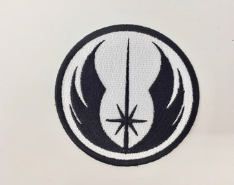 Star Wars Jedi Order Embroidered Iron on Patch (75mm x 75mm)
