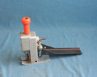 Vintage Jiffy Portable JIG-SAW Attachment  Old Tools made in USA