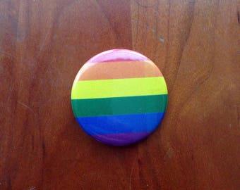 "Rainbow 1.5"" Pinback Button"