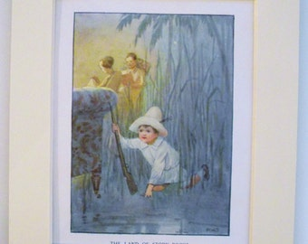 1918 Verses for Children 1st Edition print (Book Plate) by Margaret Tarrant