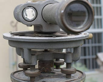 Vintage Surveyors Transit, Transit Only, Stand Not Included, Vintage Tools, Scope