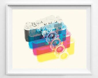 Leica - Leica Poster - Camera Art - Camera Poster - Camera Wall ARt - 35mm - Leica Camera - Camera Wall Art - Photography - Camera Decor