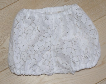 Bloomer lace 3 or 6 months baptism wedding