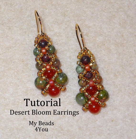 step make with bead earrings version to nowatermark wikihow how steps beading pictures