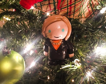 Hillary Clinton Christmas Ornament