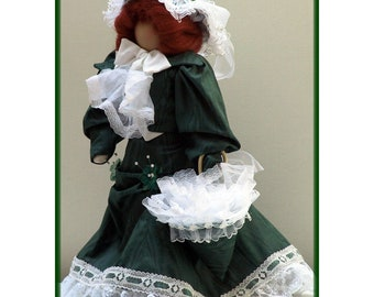 Josephine Victorian Faceless Lady Art Doll E-Pattern