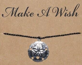Sand Dollar Shell Seashell Beach Wish Bracelet - Buy 3 Items, Get 1 Free