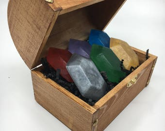 SIX Rupee Soaps in a Chest!- You Choose The Scent!