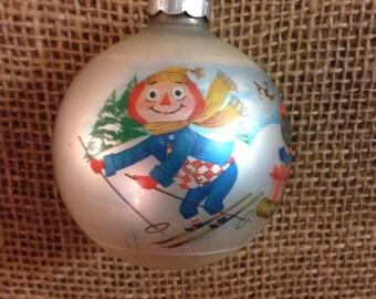 Retro Raggedy Ann Christmas Tree Ornament