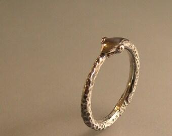 Silver Snake Ring, Ouroboros Ring, Serpant Ring