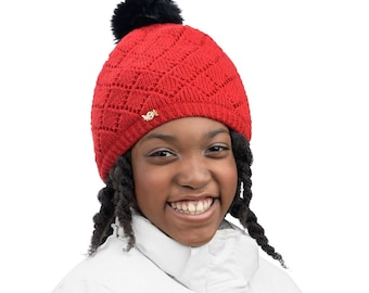 Colorful TUQSAT Satin lined hat for kids