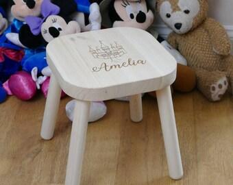 Children's Stool   Personalised Kids Chairs