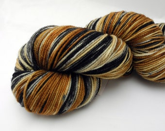 Queen's Tea Watercolor Stripes - Self-Striping Sock Yarn Made to Order
