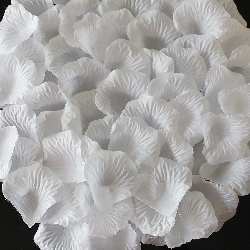1000 pcs white rose petals bulk silk rose petals artificial zoom mightylinksfo
