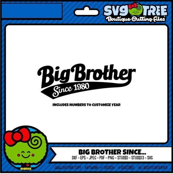 Download Big Brother SVG Big Bro SVG Brother SVG Shirt Design