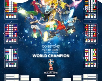 Download - 2018 World Cup Wall Chart (Printable A3 JPG)