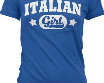Italian Girl Juniors T-shirt, NOFO_00965