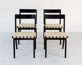 Set of Jens Risom for Knoll Dining Chairs