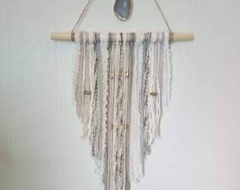 Hand-made wall hanging