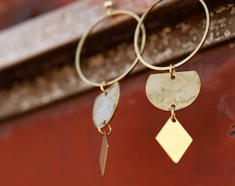 Brass Collective hoops