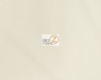 "Solid Outdoor Anti-UV Waterproof Fabric - IVORY - 60"" Width By The Yard"